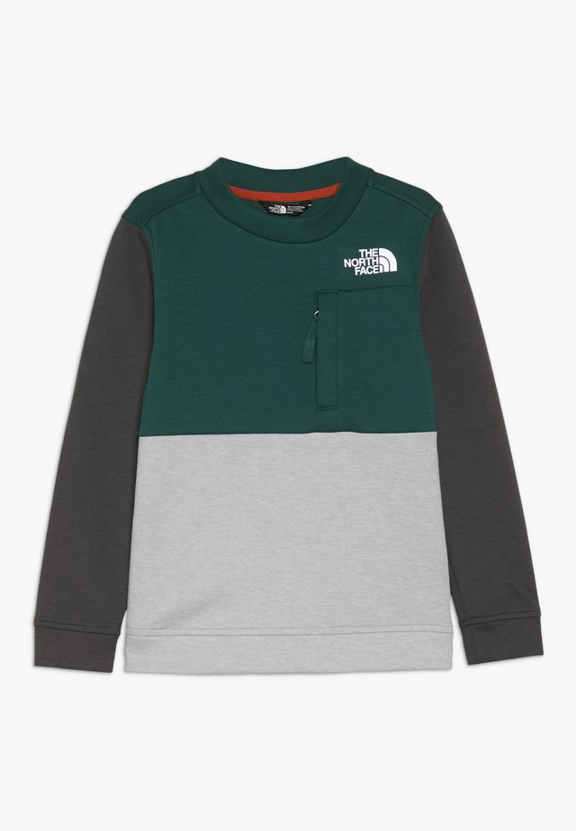 SLACKER CREW - Sudadera - night green