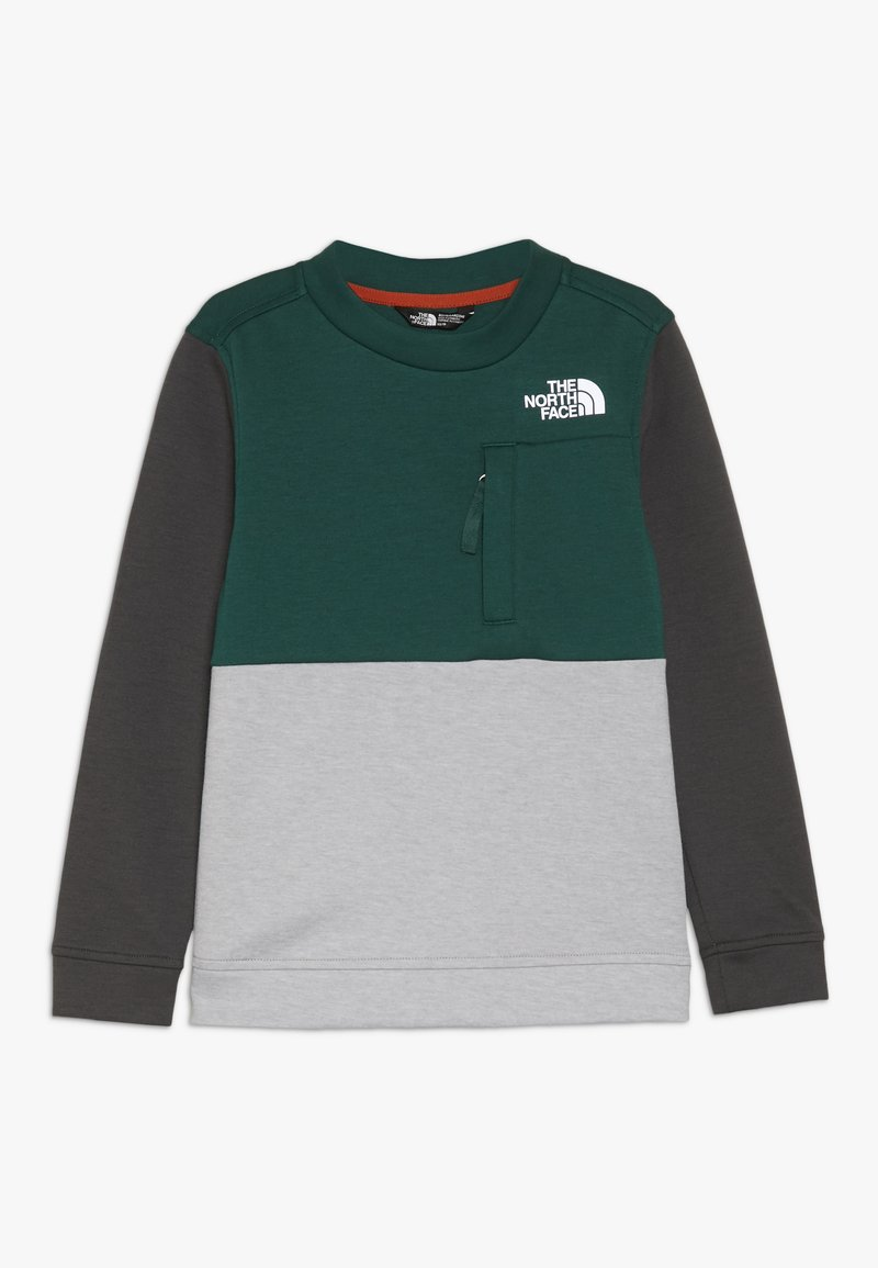 The North Face - SLACKER CREW - Sweatshirt - night green
