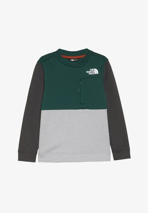 SLACKER CREW - Sweater - night green