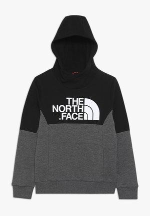 SOUTH PEAK - Hoodie - grey heather/black