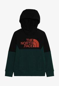 The North Face - SOUTH PEAK - Jersey con capucha - green/black - 4