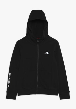 SOUTH PEAK - Zip-up hoodie - black/white