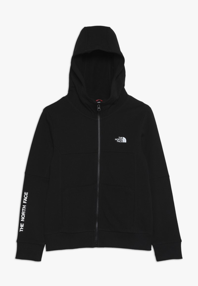 The North Face - SOUTH PEAK - Huvtröja med dragkedja - black/white