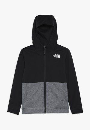 SLACKER - veste en sweat zippée - tnf black