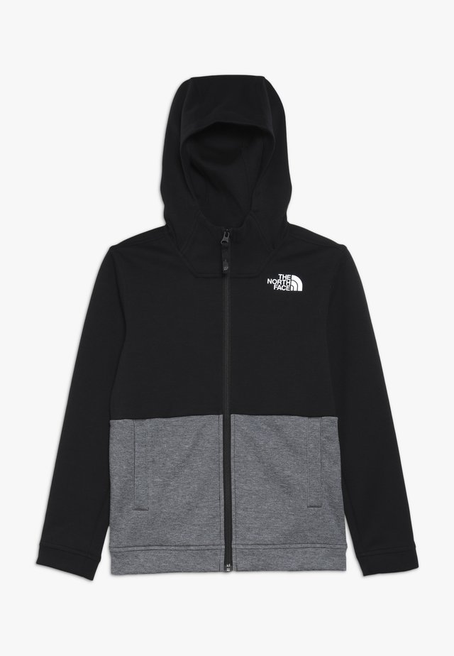 SLACKER - Bluza rozpinana - tnf black