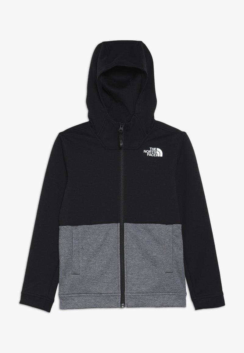 The North Face - SLACKER - Mikina na zip - tnf black