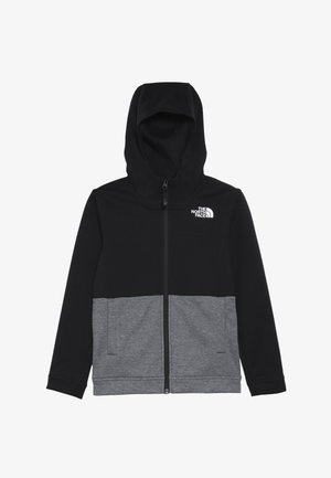 SLACKER - Zip-up hoodie - tnf black