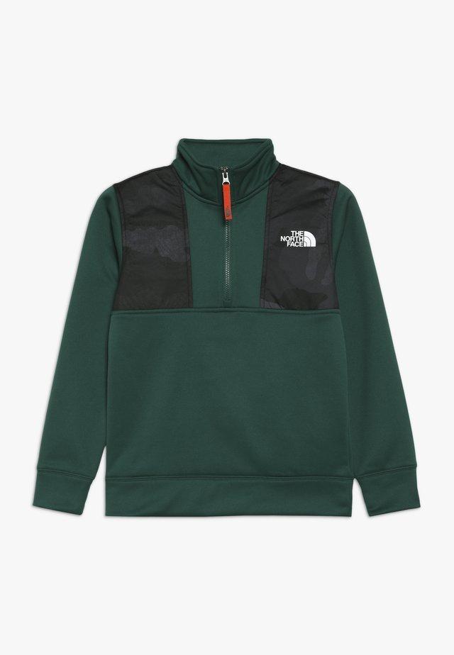 SURGENT ZIP - Bluza z polaru - night green