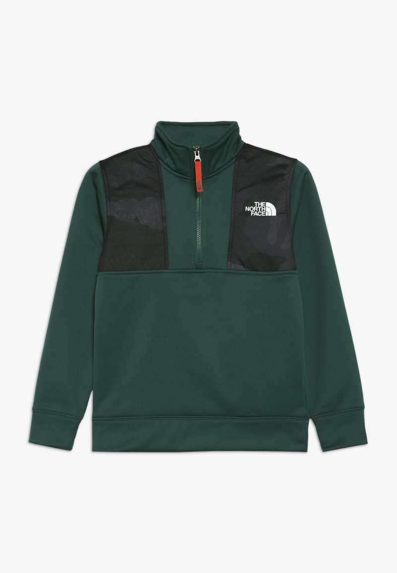 The North Face - SURGENT ZIP - Fleece jumper - night green