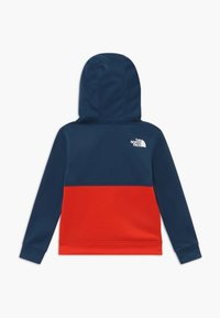 The North Face - BOYS SURGENT BLOCK HOODIE - Sweat à capuche - fiery red - 1