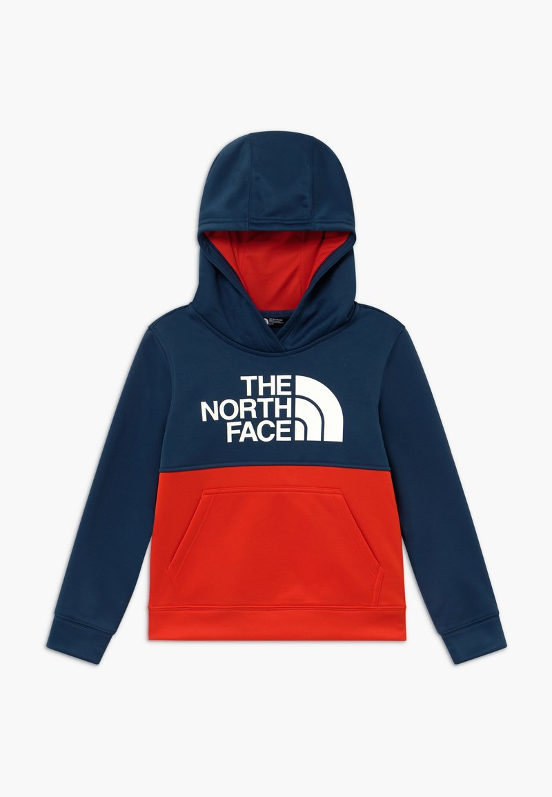 The North Face - BOYS SURGENT BLOCK HOODIE - Sweat à capuche - fiery red