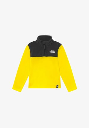YOUTH GLACIER BLOCKED 1/4 ZIP  - Fleece trui - lemon