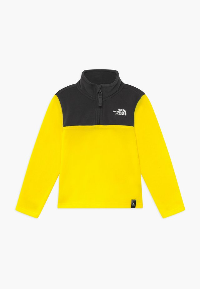 YOUTH GLACIER BLOCKED 1/4 ZIP  - Bluza z polaru - lemon