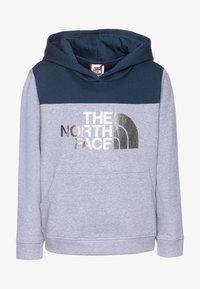 The North Face - GIRLS DREW PEAK HOODIE - Sweat à capuche - blue wing teal - 0