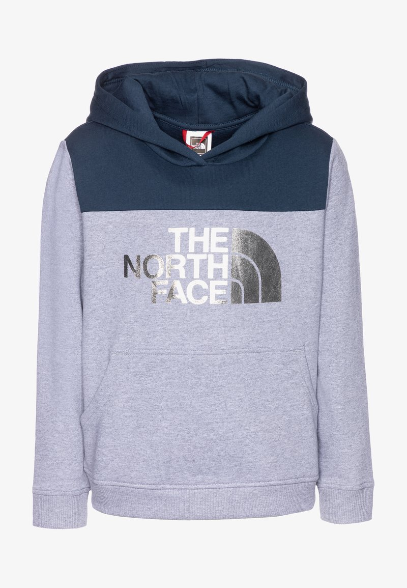 The North Face - GIRLS DREW PEAK HOODIE - Sweat à capuche - blue wing teal