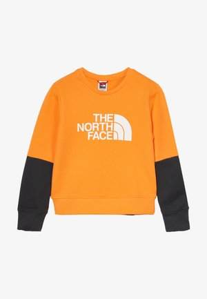 YOUTH DREW PEAK LIGHT CREW - Sweatshirt - flame orange