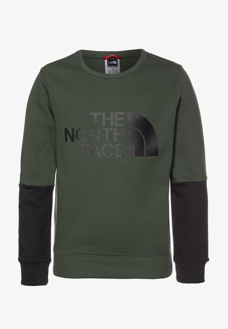 The North Face - YOUTH DREW PEAK LIGHT CREW - Bluza - thyme