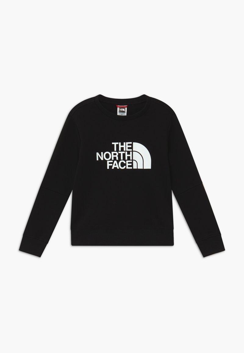 The North Face - YOUTH DREW PEAK LIGHT CREW - Bluza - black