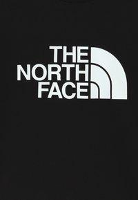 The North Face - YOUTH DREW PEAK LIGHT CREW - Bluza - black - 3
