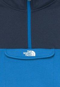 The North Face - YOUTH YAFITA 1/4 ZIP - Bluza z kapturem - clear lake blue - 3