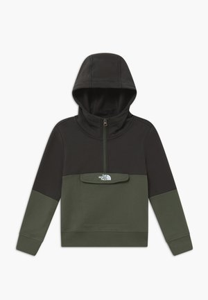 YOUTH YAFITA 1/4 ZIP - Sweat à capuche - thyme