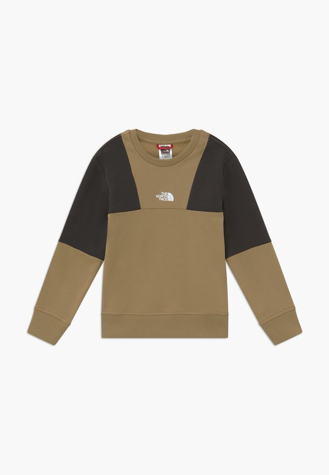 YOUTH YAFITA CREW - Bluza - kelp tan