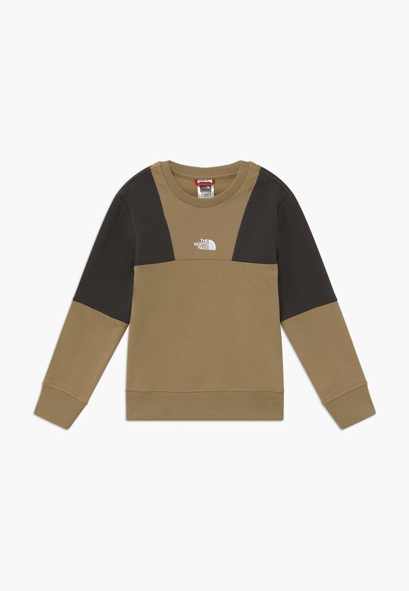 The North Face - YOUTH YAFITA CREW - Sweatshirt - kelp tan
