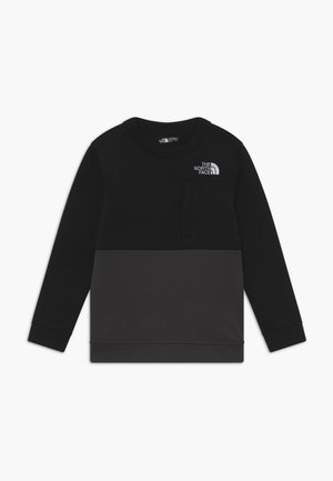 BOYS SLACKER CREW - Sweatshirt - black