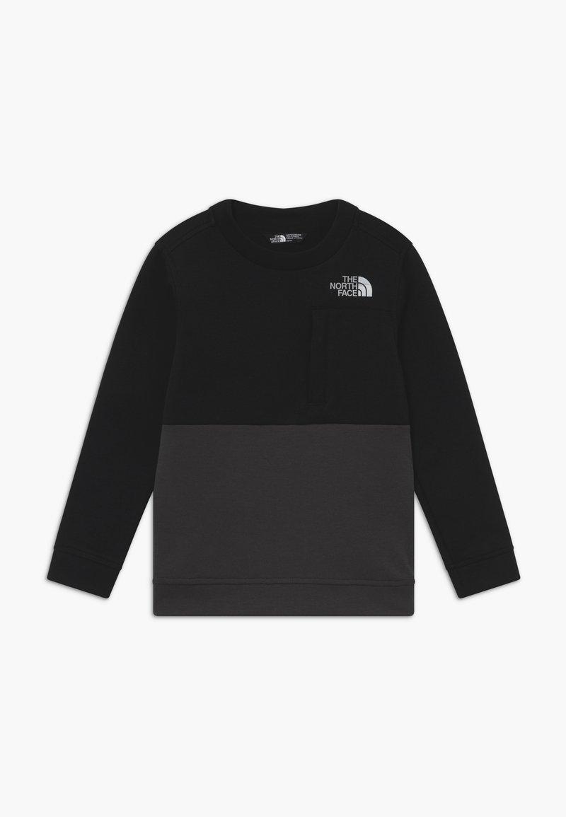 The North Face - BOYS SLACKER CREW - Sweatshirt - black