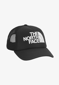 The North Face - LOGO TRUCKER - Cappellino - black/white - 1