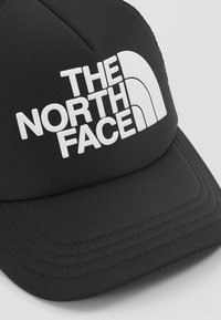 The North Face - LOGO TRUCKER - Cappellino - black/white - 2