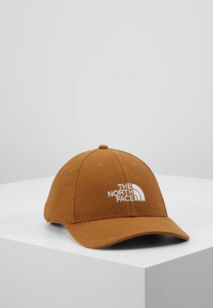 CLASSIC HAT - Cap - cedar brown/white
