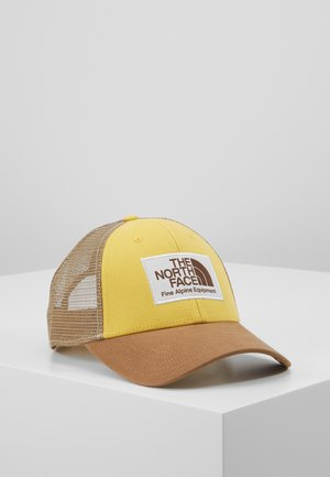 MUDDER TRUCKER HAT - Lippalakki - bamboo yellow