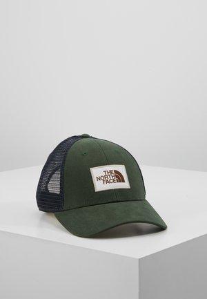 MUDDER TRUCKER HAT - Caps - night green/vintage white