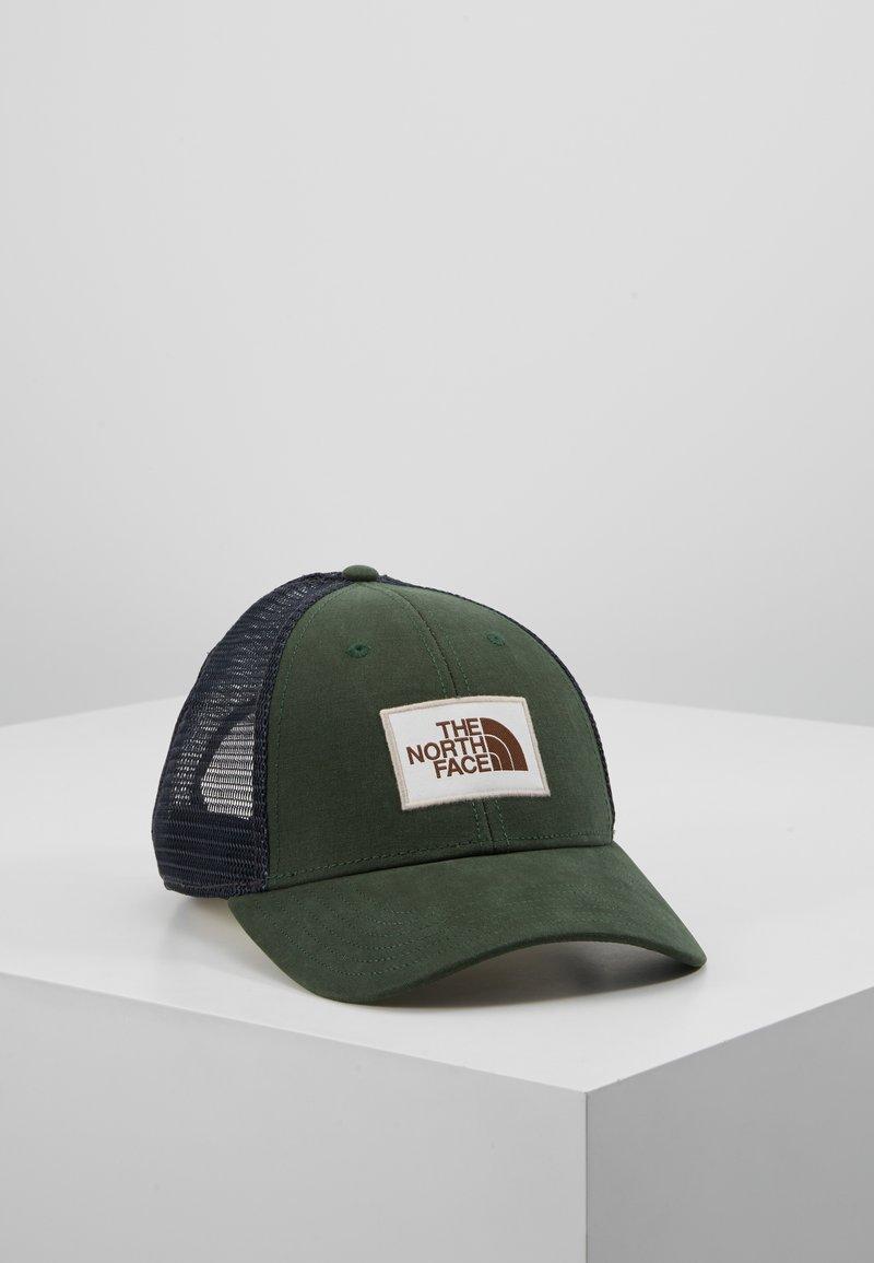 The North Face - MUDDER TRUCKER HAT - Cap - night green/vintage white