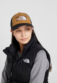 The North Face - MUDDER TRUCKER HAT - Kšiltovka - british khaki/black - 4