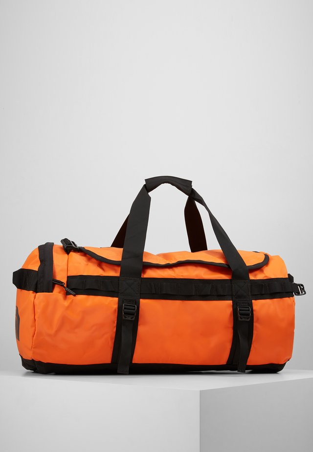 BASE CAMP DUFFEL M - Sportväska - persian orange/black