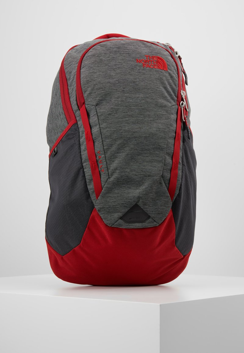 The North Face - VAULT 26,5L - Tagesrucksack - dark grey heather/cardinal red
