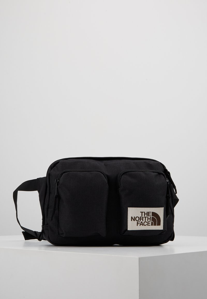 The North Face - KANGA - Umhängetasche - black heather