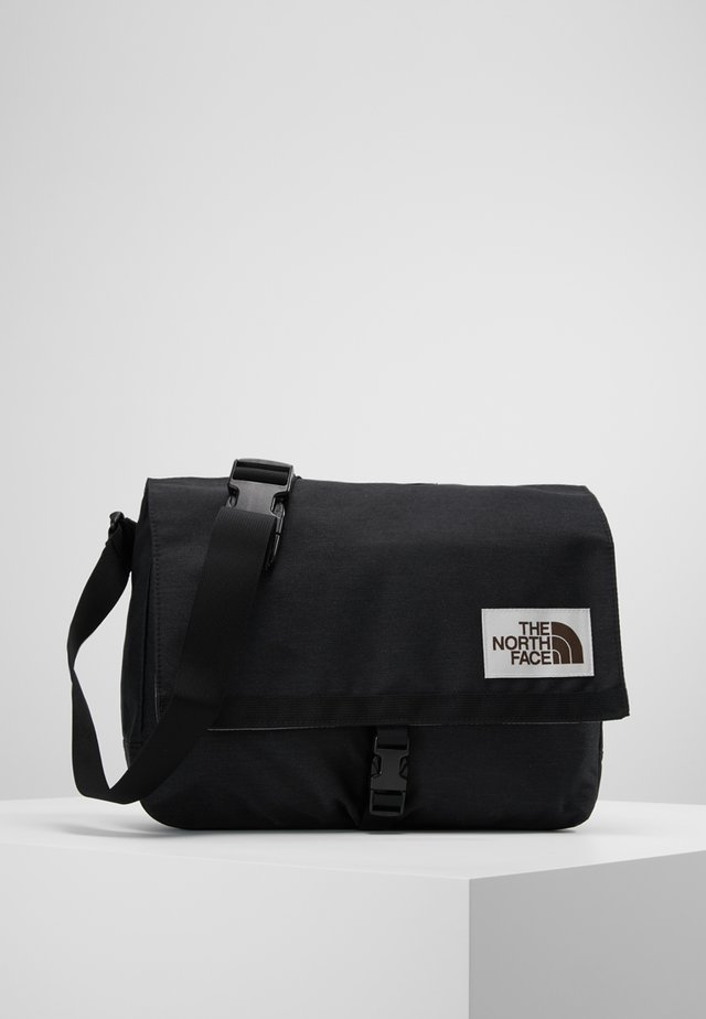 BERKELEY SATCHEL - Olkalaukku - black heath