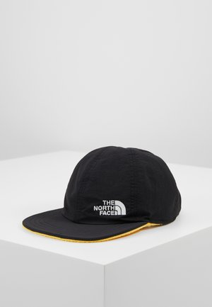 REVERSIBLE NORM HAT - Lippalakki - black/yellow