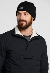 The North Face - BONES RECYCLED BEANIE - Pipo - black - 1