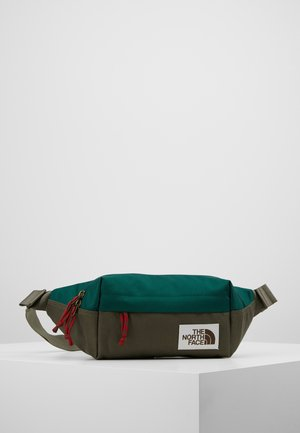LUMBAR PACK - Bum bag - night green/new taupe green