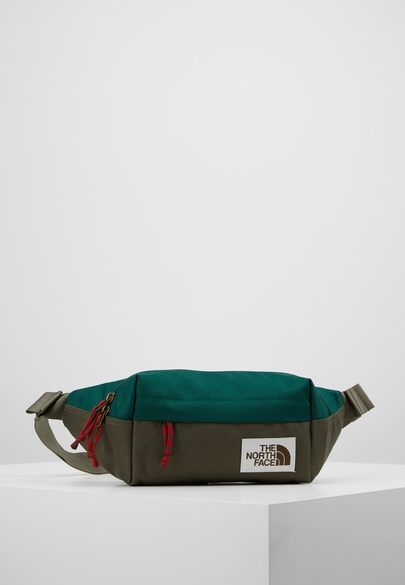 The North Face - LUMBAR PACK - Saszetka nerka - night green/new taupe green