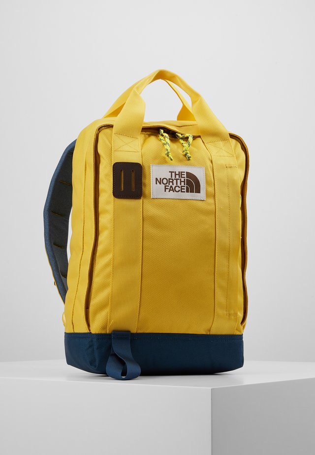 TOTE PACK - Mochila - yellow/blue/teal