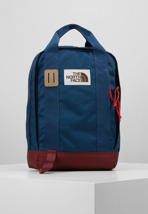TOTE PACK - Plecak - blue wing teal/barolo red