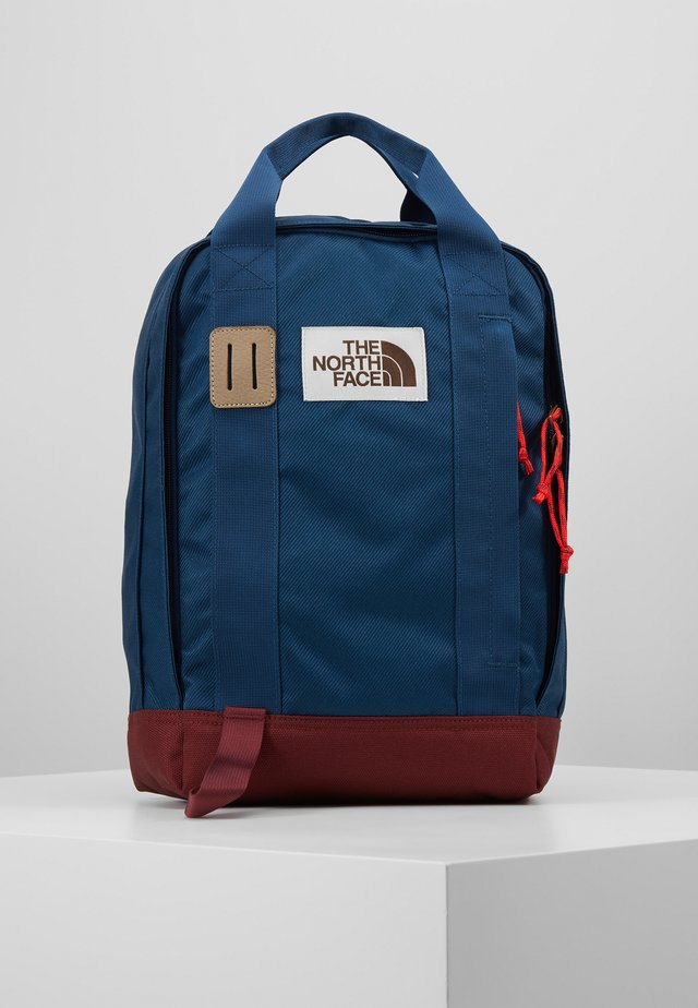 TOTE PACK - Reppu - blue wing teal/barolo red