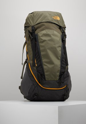 TERRA 65 - Trekkingrucksack - dark grey heather/new taupe green