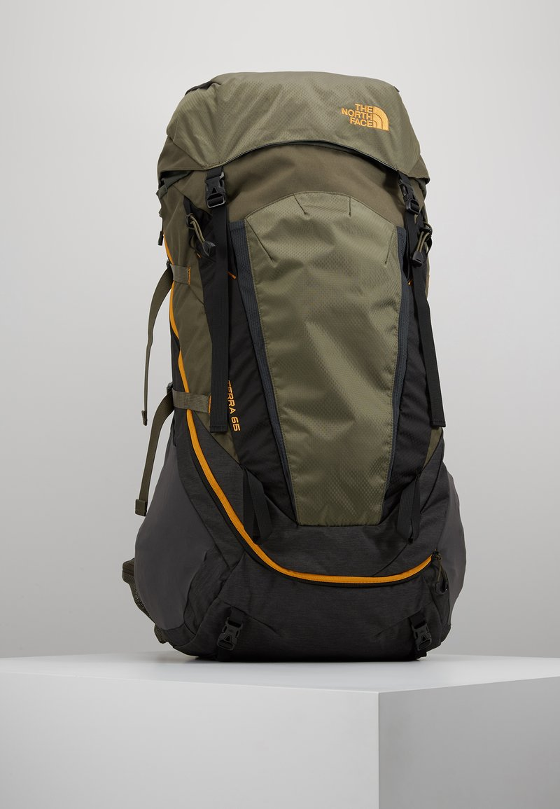 The North Face - TERRA 65 - Sac de trekking - dark grey heather/new taupe green