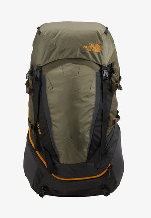 TERRA 55 - Mochila de trekking - dark grey heather/new taupe green